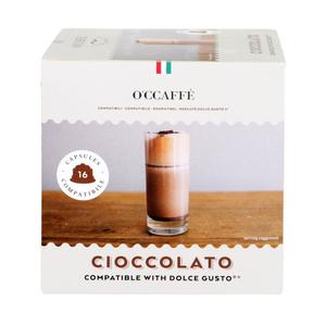 O'CCAFFE Ciaccolato для системы Dolce Gusto, 16 шт